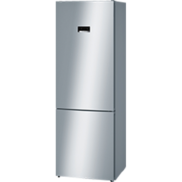 Bosch Serie 4 KGN49XL30G 60/40 Frost Free Fridge Freezer - Stainless Steel Effect - A++ Rated - KGN49XL30G_SSL - 1