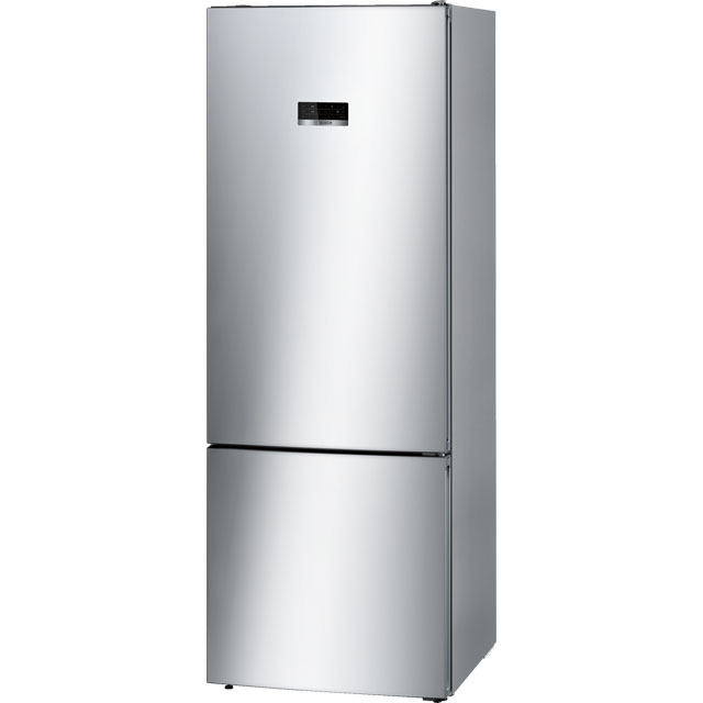 Bosch Serie 4 KGN56XL30 60/40 Frost Free Fridge Freezer - Stainless Steel Effect - A++ Rated - KGN56XL30_SSL - 1