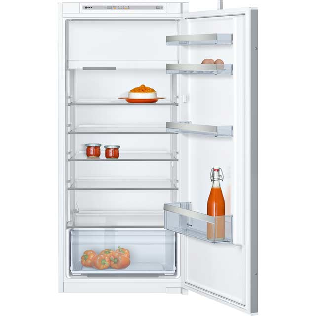 NEFF N50 KI2422S30G Integrated Upright Fridge with Ice Box - Sliding Door Fixing Kit - White - A++ Rated - KI2422S30G_WH - 1