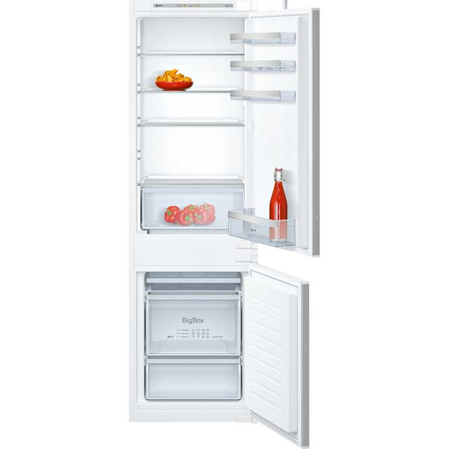 NEFF N50 KI5862S30G Integrated 60/40 Fridge Freezer with Sliding Door Fixing Kit - White - A++ Rated