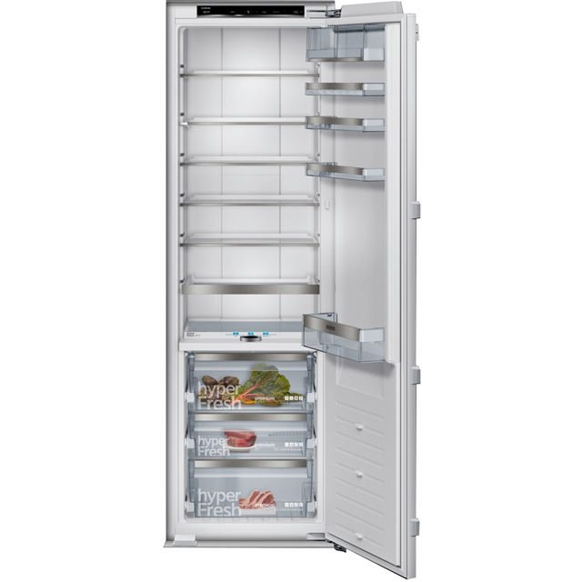 Siemens IQ-700 KI81FPF30G Integrated Upright Fridge with Ice Box - Fixed Door Fixing Kit - White - A++ Rated - KI81FPF30G_WH - 1
