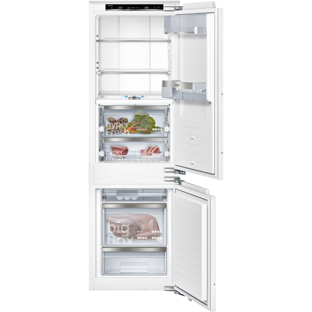 Siemens IQ-700 KI84FPF30 Built In Fridge Freezer - White - KI84FPF30_WH - 1