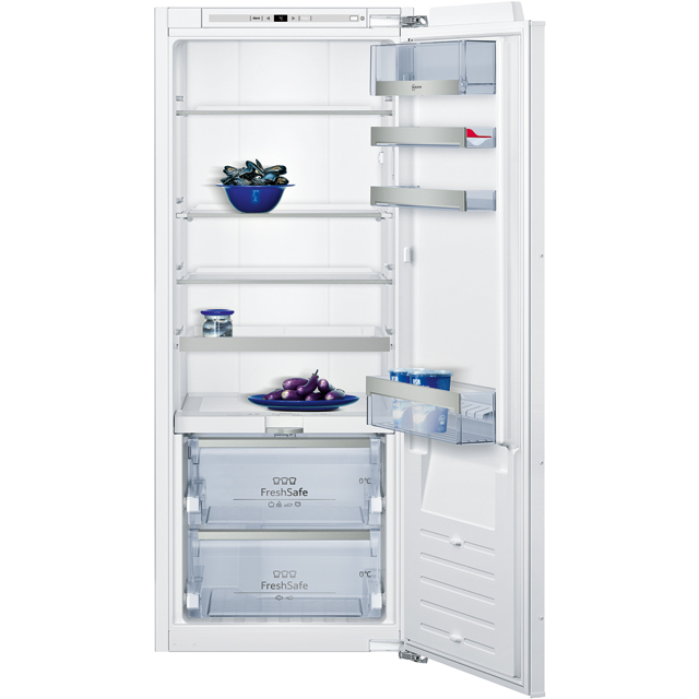 NEFF N90 KI8513D30G Integrated Upright Fridge - White - A++ Rated - KI8513D30G_WH - 1