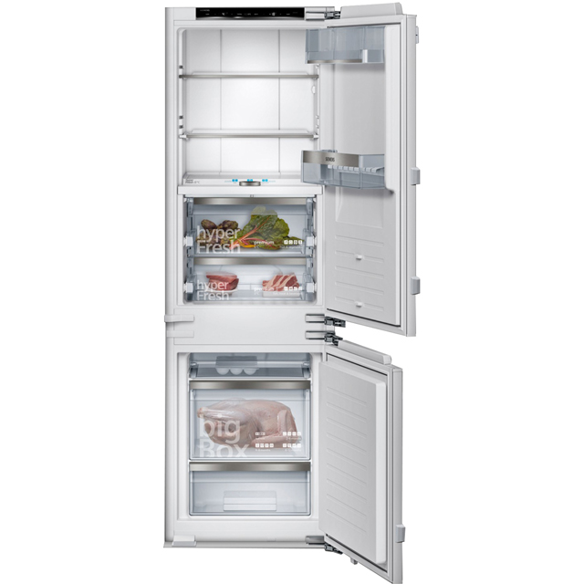 Siemens IQ-700 KI86FPF30G Integrated 70/30 Frost Free Fridge Freezer with Fixed Door Fixing Kit - White - A++ Rated - KI86FPF30G_WH - 1
