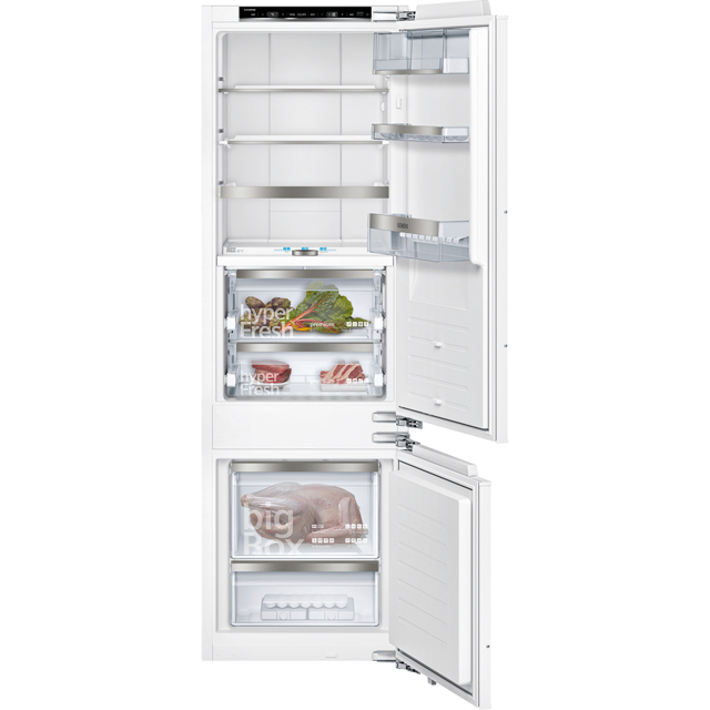 Siemens IQ-700 KI87FPF30 Integrated 70/30 Fridge Freezer with Fixed Door Fixing Kit - White - A++ Rated - KI87FPF30_WH - 1