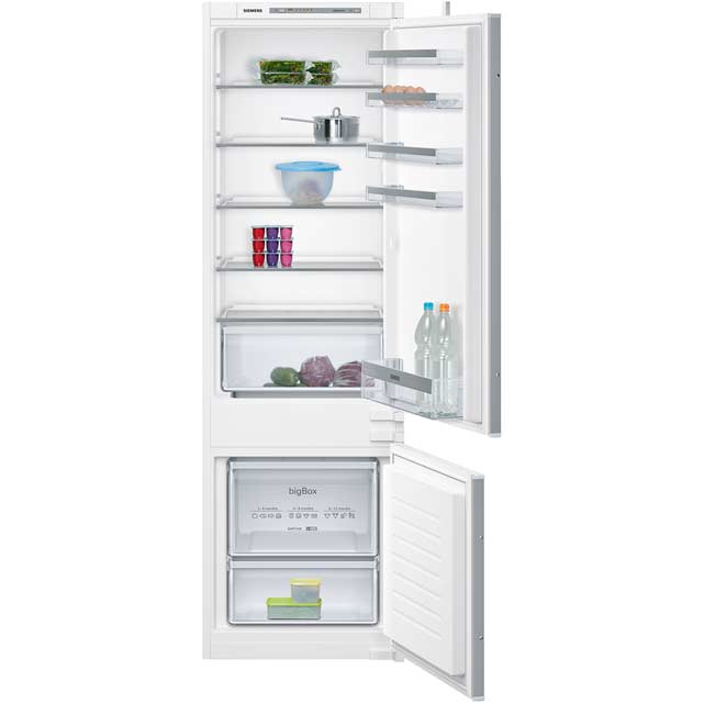Siemens IQ-300 KI87VVS30G Integrated 70/30 Fridge Freezer with Sliding Door Fixing Kit - White - A++ Rated - KI87VVS30G_WH - 1