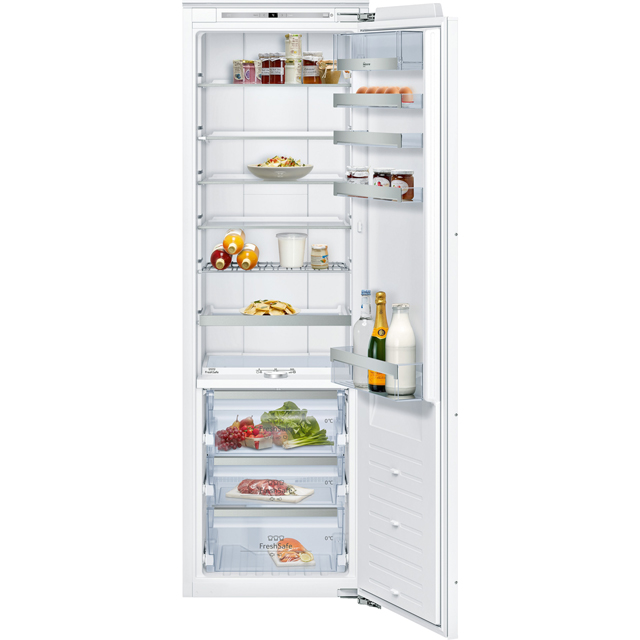 NEFF N90 KI8816D30 Integrated Upright Fridge - Fixed Door Fixing Kit - White - A++ Rated - KI8816D30_WH - 1
