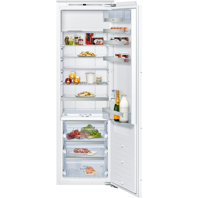 NEFF N90 KI8826D30 Integrated Upright Fridge - Fixed Door Fixing Kit - White - A++ Rated - KI8826D30_WH - 1