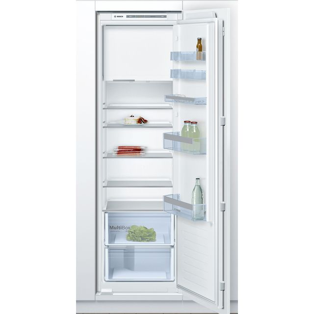 Bosch Serie 4 KIL82VSF0 Built In Fridge Freezer - White - KIL82VSF0_WH - 1