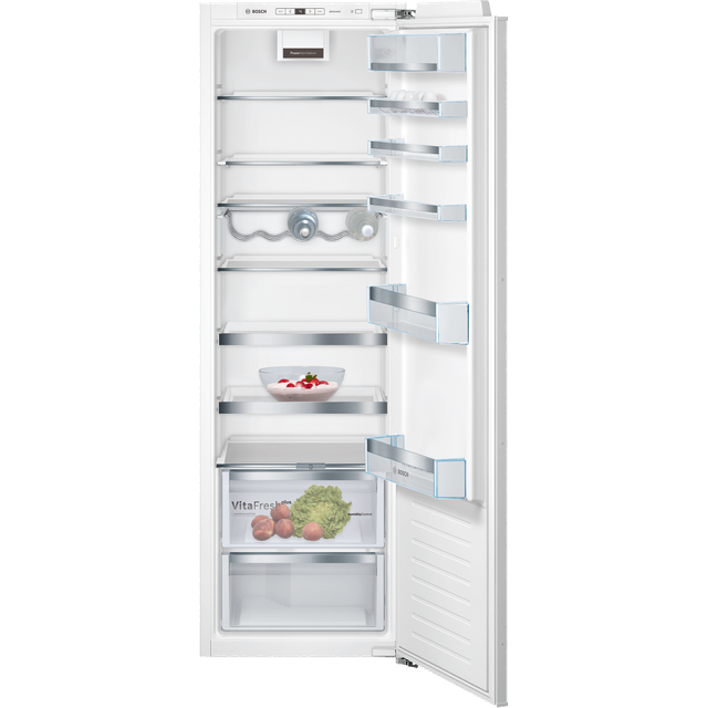 Bosch Serie 6 KIR81AFE0G Integrated Upright Fridge