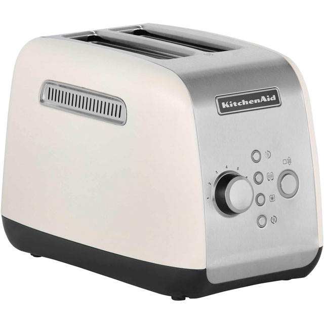 Kitchenaid 5kmt221bac 2 Slice Toaster Almond Cream