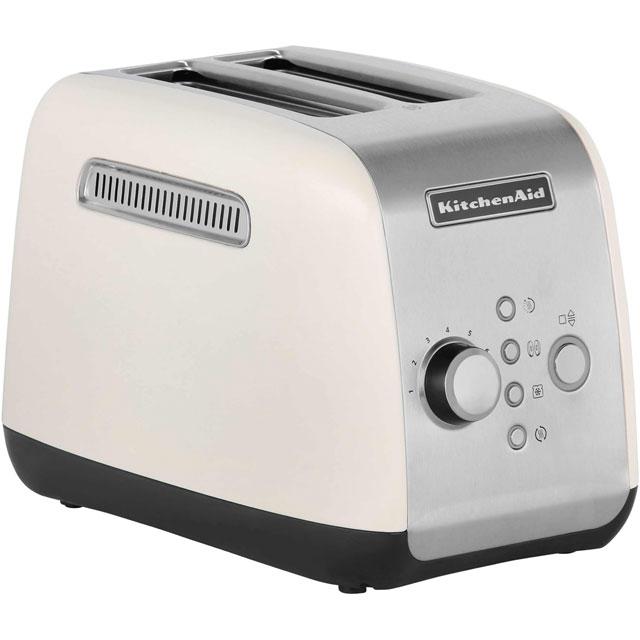 KitchenAid 5KMT221BAC 2 Slice Toaster Almond Cream