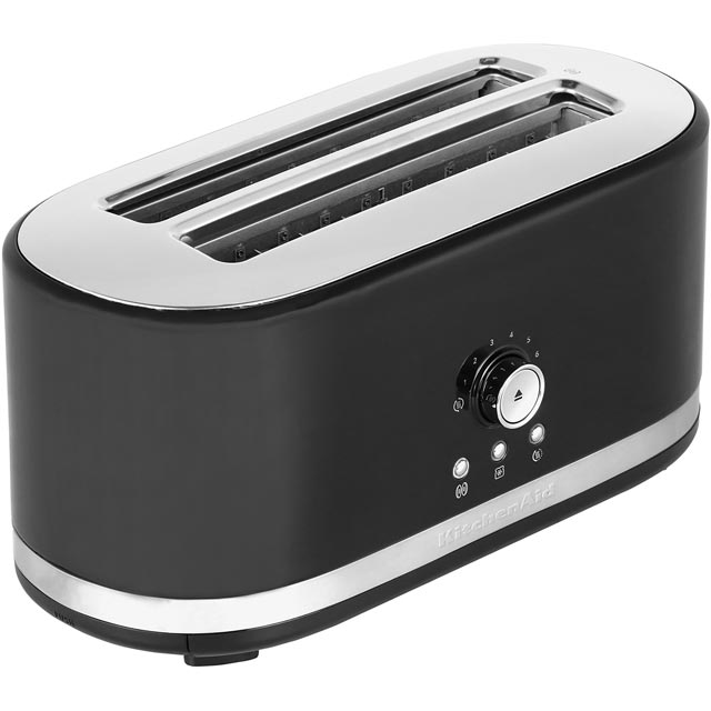 Black Kitchenaid Toaster: KitchenAid 5KMT4116BOB Toaster In Onyx Black Small Appliances