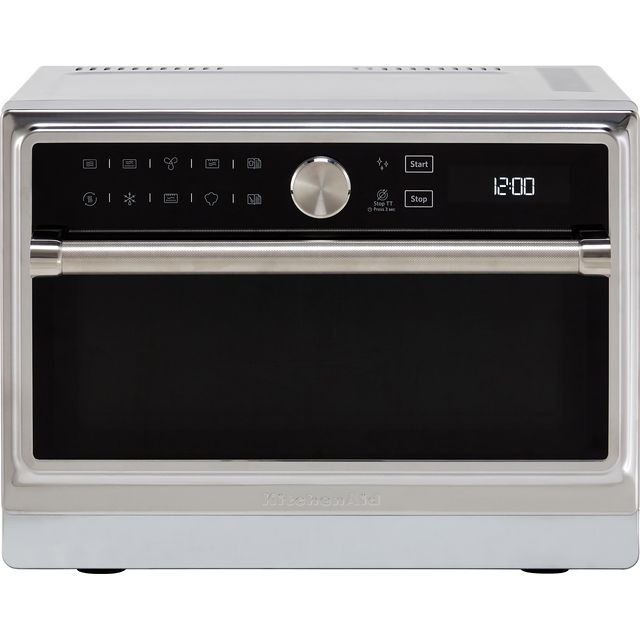 KitchenAid KMQFX33910 33 Litre Combination Microwave Oven - Stainless Steel - KMQFX33910_SS - 1
