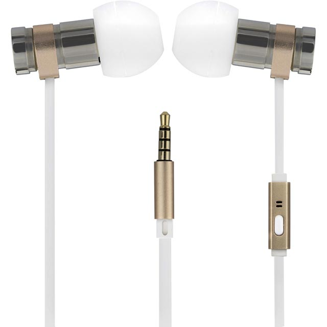 Kitsound Nova In-Ear Headphones - Gold - KSNOVGL - 1