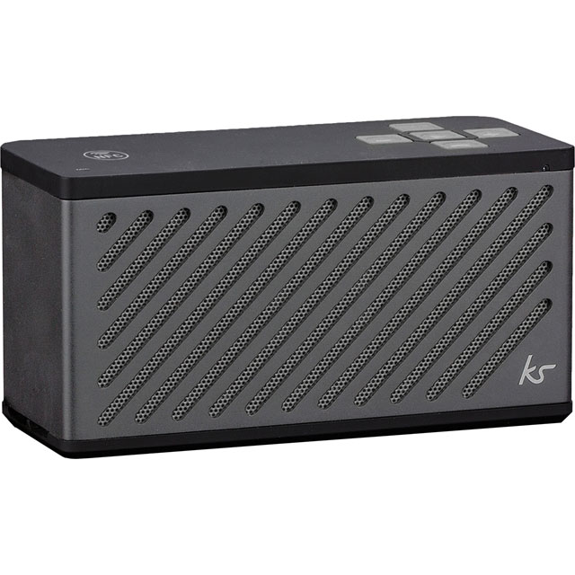 Kitsound KSTILGM Wireless Speaker in Gun Metal