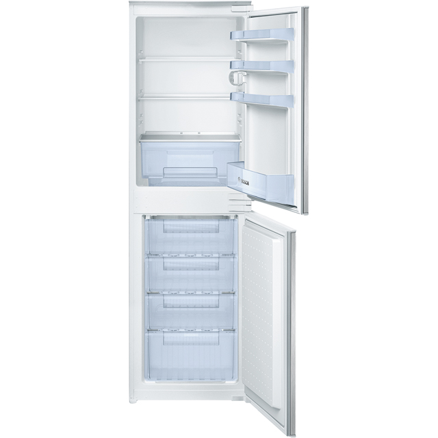 Bosch Serie 2 KIV32X23GB Integrated 50/50 Frost Free Fridge Freezer - White - A+ Rated Best Price, Cheapest Prices