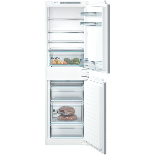 Bosch Serie 4 KIV85VSF0G Integrated 50/50 Fridge Freezer - White - A++ Rated