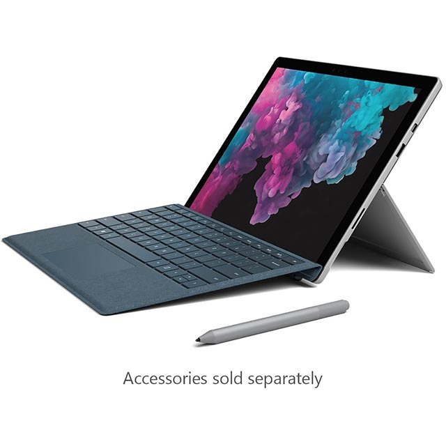 "Microsoft Surface Pro 6 12.3"" 2-in-1 Laptop [2018] - Silver - KJU-00002 - 1"