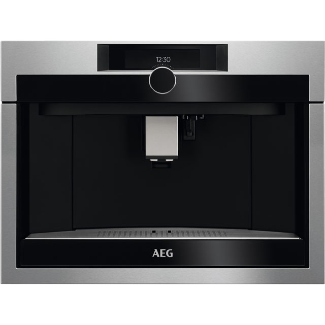 AEG KKE994500M Built In Bean to Cup Coffee Machine - Stainless Steel - KKE994500M_SS - 1