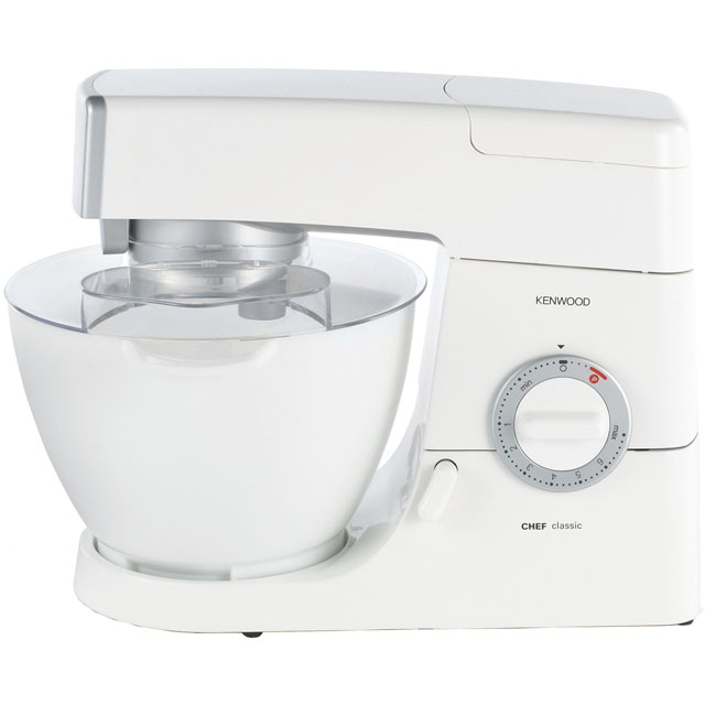 Kenwood Classic Chef KM330 Stand Mixer with 4.6 Litre Bowl - White