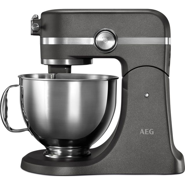 AEG Ultramix KM5540-U Stand Mixer with 4.8 Litre Bowl - Metallic Grey - KM5540-U_MGR - 1