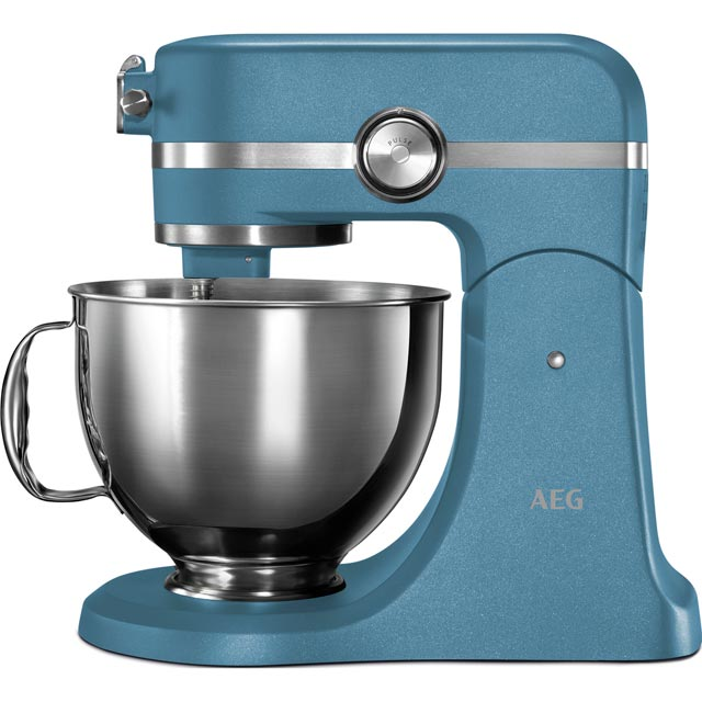 AEG Ultramix KM5560 Stand Mixer with 4.8 Litre Bowl - Blue - KM5560_BL - 1