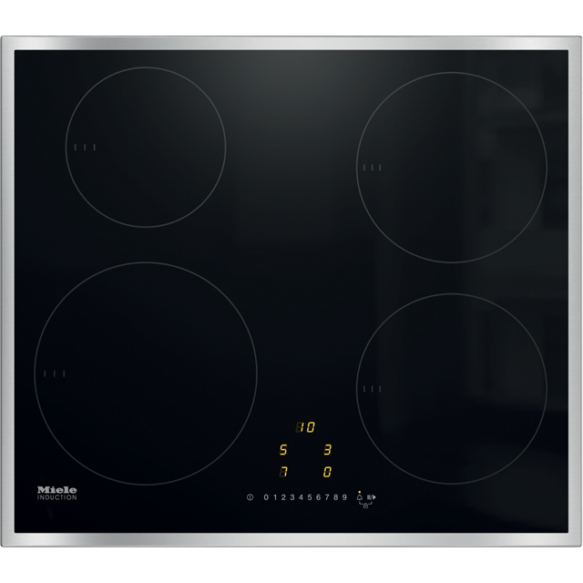 Miele KM7201FR 57cm Induction Hob - Black - KM7201FR_BK - 1