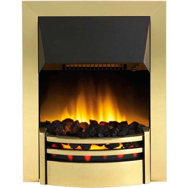 Dimplex Kansas KNS20 Coal Bed Inset Fire - Brass - KNS20_BRS - 1