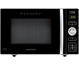 Daewoo with Fat Free Fryer KOC8HAFR 24 Litre Combination Microwave Oven - Black