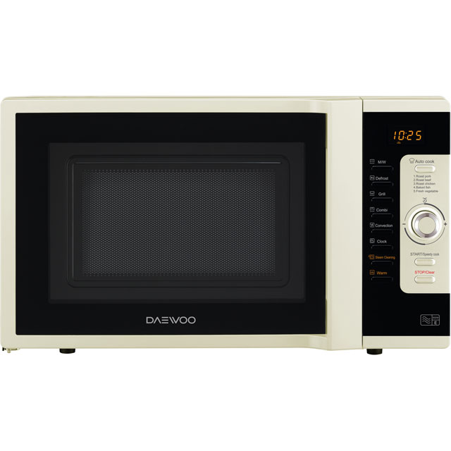 Daewoo KOC9C0TCR 28 Litre Combination Microwave Oven - Cream