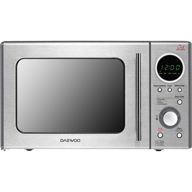 Daewoo KOG3000SL Free Standing Microwave Oven in Silver