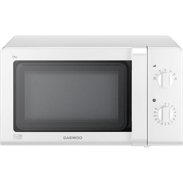 Daewoo Microwaves Free Standing Microwave Oven in White