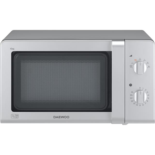 Daewoo Microwaves Free Standing Microwave Oven in Silver