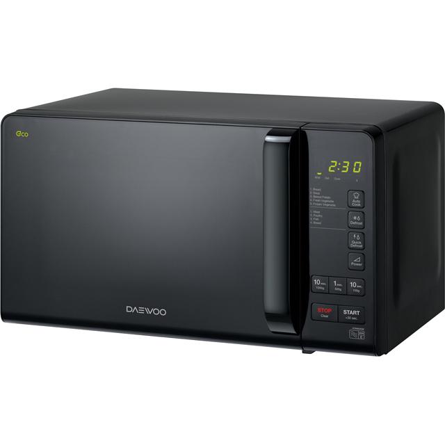 Daewoo KOR6M3R Free Standing Microwave Oven in Black