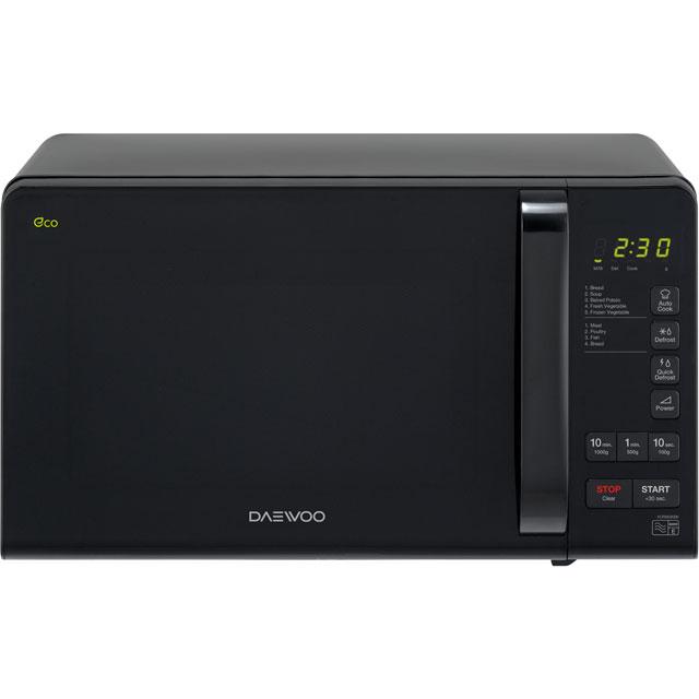 Daewoo Microwaves KOR6M3RR Free Standing Microwave Oven in Black
