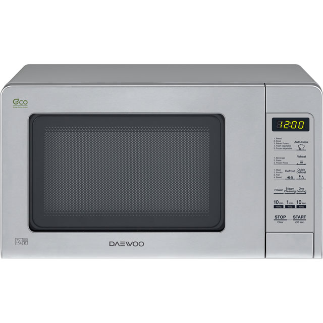 Daewoo Microwaves KOR6M5RR Free Standing Microwave Oven in Stainless Steel