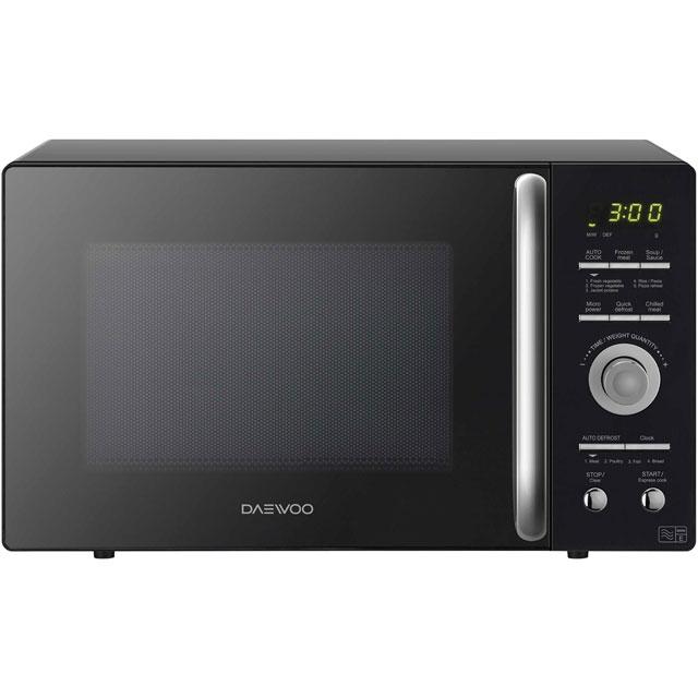 Daewoo Microwaves KOR9GQRR Free Standing Microwave Oven in Black