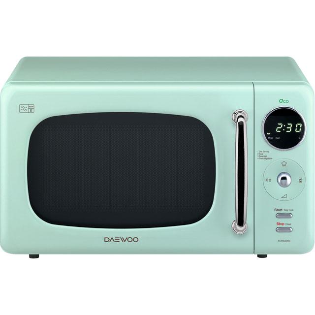 Daewoo Microwaves KOR9LBKMR Free Standing Microwave Oven in Mint