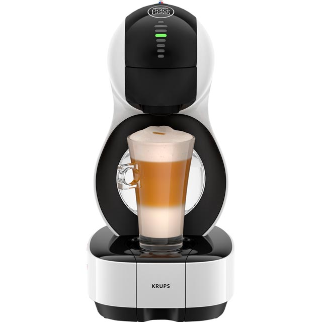Krups Dolce Gusto Lumio KP130140 Pod Coffee Machine - White - KP130140_WH - 1