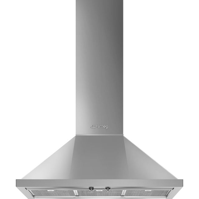 Smeg Portofino KPF9X 90 cm Chimney Cooker Hood - Stainless Steel - A+ Rated - KPF9X_SS - 1