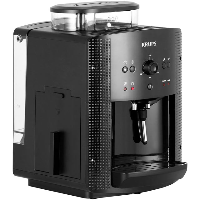 Krups EA810840 Bean to Cup Coffee Machine - Black