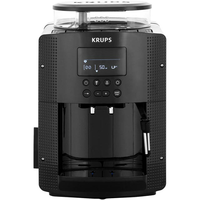 Krups EA815040 Bean to Cup Coffee Machine - Black