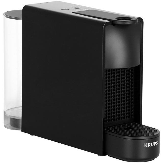 Nespresso by Krups Essenza XN110840 Pod Coffee Machine - Piano Black - XN110840_BK - 1