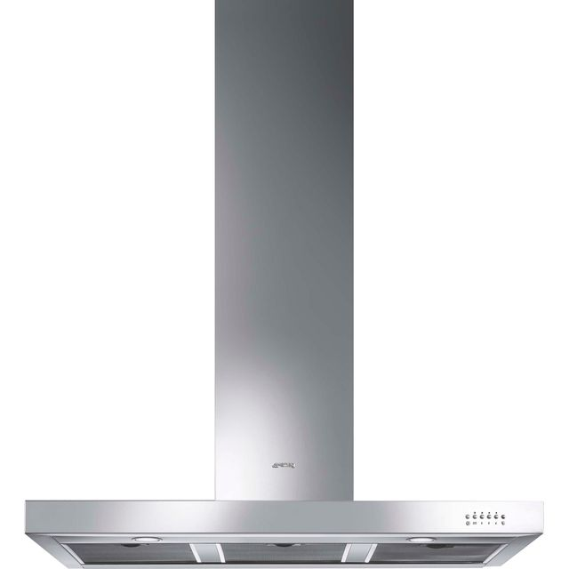 Smeg Symphony KS110XE Integrated Cooker Hood in Stainless Steel