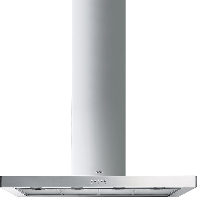 Smeg KS120XE-2 Built In Chimney Cooker Hood - Stainless Steel - KS120XE-2_SS - 1
