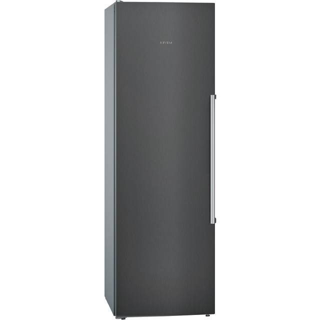 Siemens IQ-500 KS36VAX3P Fridge - Black / Stainless Steel Look - A++ Rated - KS36VAX3P_BK - 1