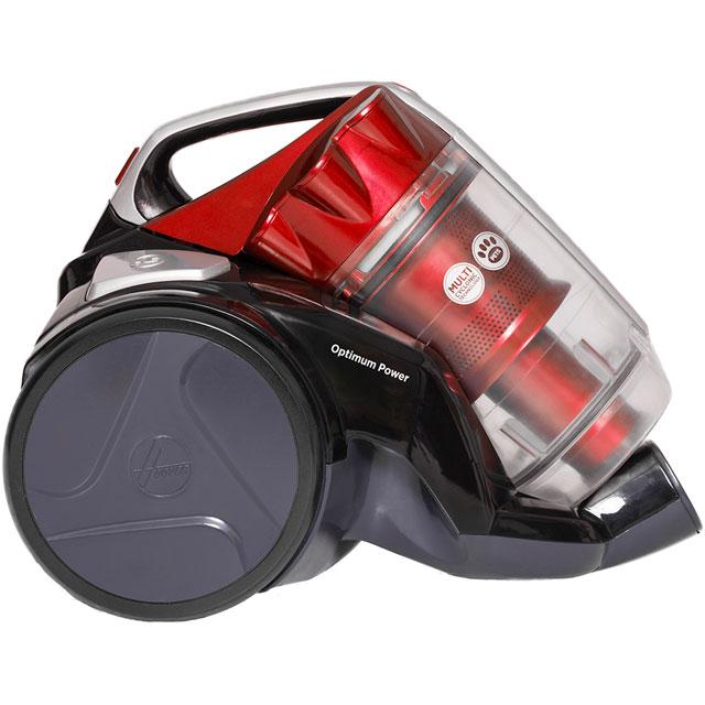 Hoover Optimum Power Pets KS51OP2 Cylinder Vacuum Cleaner in Black / Red