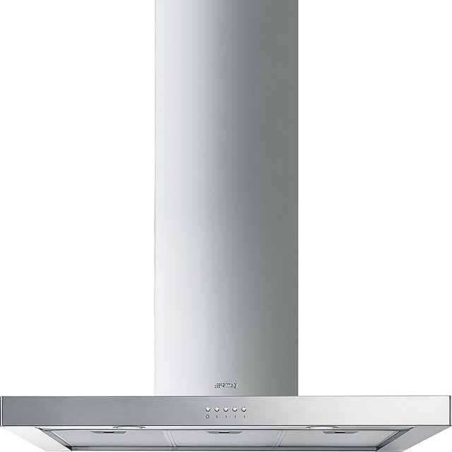 Smeg 90 cm Chimney Cooker Hood - Stainless Steel - B Rated