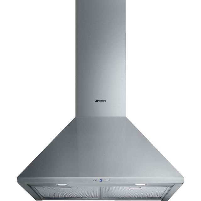 Smeg Cucina KSA600HXE 60 cm Chimney Cooker Hood - Stainless Steel - B Rated - KSA600HXE_SS - 1
